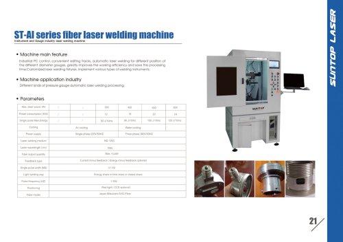 SUNTOP/Instrument and Gauge industry laser welding machine