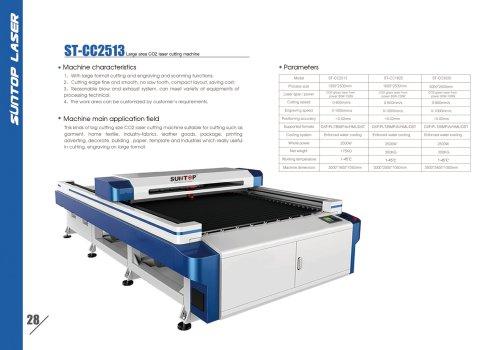 SUNTOP/Large area CO2 laser cutting machine