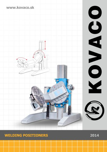 WELDING POSITIONERS by KOVACO