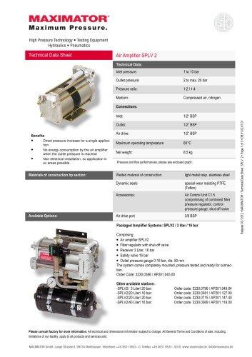 Air Amplifier SPLV 2