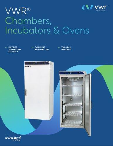 VWR® Chambers, Incubators & Ovens