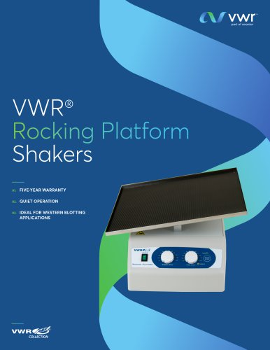 VWR® Rocking Platform Shakers