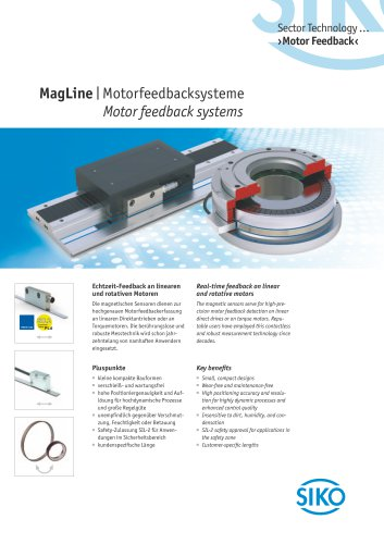 MagLine   Motor feedback systems