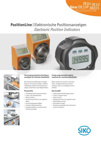 PositionLine   Electronic Position Indicators