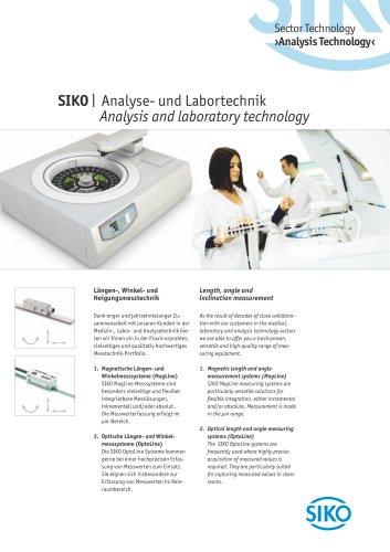 SIKO   Analysis and laboratory technology