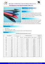 Soft Adhesive-Lined Heat Shrinkable Tube