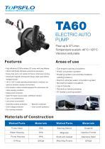 TA60- Car Pump Electronic Auto Pump