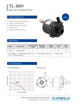 TL-B09 Brushless DC Water Pump Water Mattress Pump