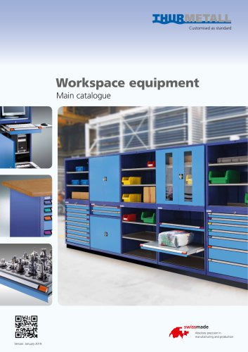 Workspace equipment - Main catalogue