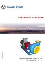 Sunbo Pump Centrifugal Sand Pump Oilwell Drilling