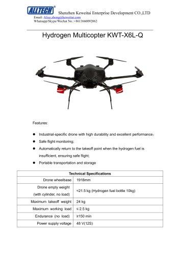 Hydrogen Multicopter KWT-X6L-Q