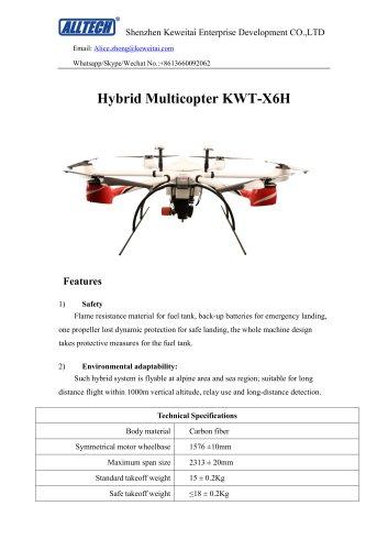 KWT-X6H Hybrid Multicopter