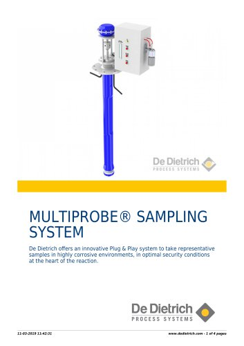 MULTIPROBE® SAMPLING SYSTEM