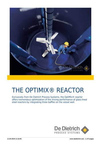 THE OPTIMIX® REACTOR