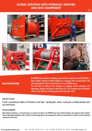 pile and mooring winches