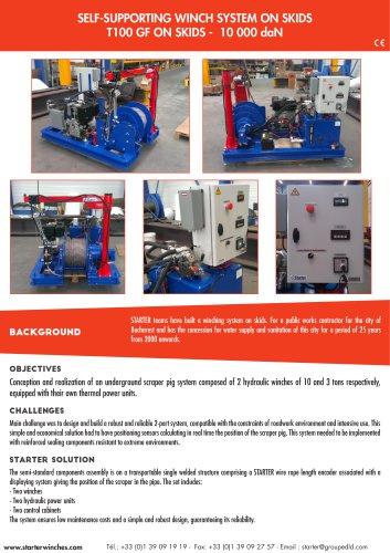 winch system on skids
