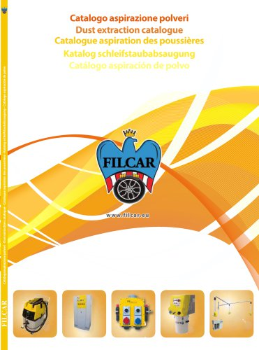 Catalogue - Dry sanding dust extraction