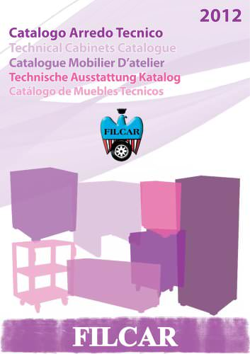Catalogue - Technical cabinets