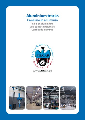 exhaust extraction  Aluminium tracks