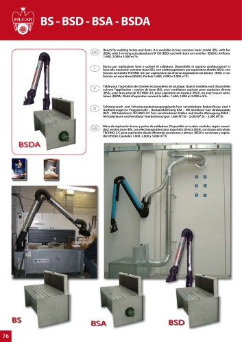 FUME EXTRACTION Exhaust Benches