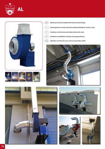 FUME EXTRACTION Fans