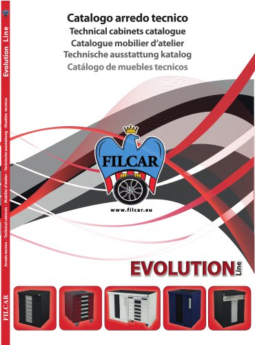 TECHNICAL CABINETS CATALOGUE EVOLUTION