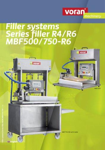 Filling machines