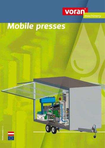 Mobile presses