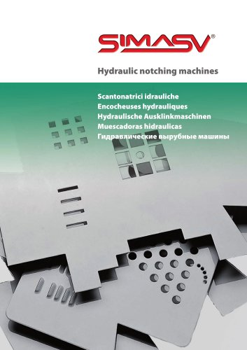 Notching machines