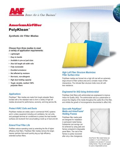 PolyKlean Product Brochure