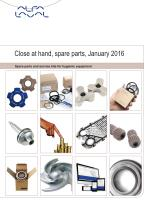 Close at hand, spare parts, January 2016