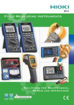 HIOKI Field Measuring Instruments catalog (2014)