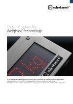 S102 / S302 weighing technology