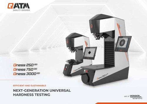 Fully Automated Macro Hardness Tester