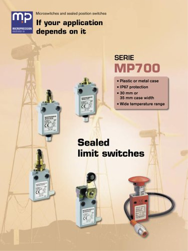 MP700 Sealed Position Switches