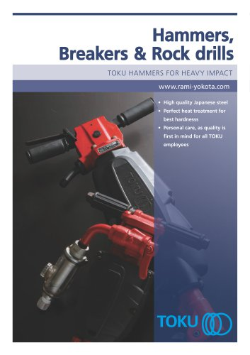 TOKU Hammers, Breakers and Rock Drills
