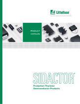 Littelfuse SIDACtor Products Catalog
