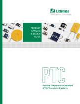 Polyfuse PPTC Catalog