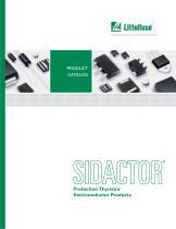 SIDACtor Catalog