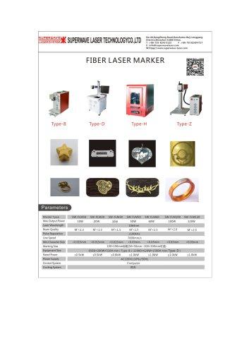 Catalog for fiber laser marker