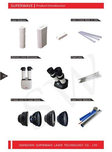 Superwave laser laser components