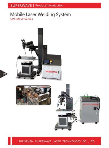 Superwave laser mobile arm laser welding machine