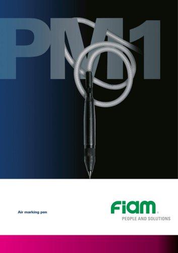 Air marking pen