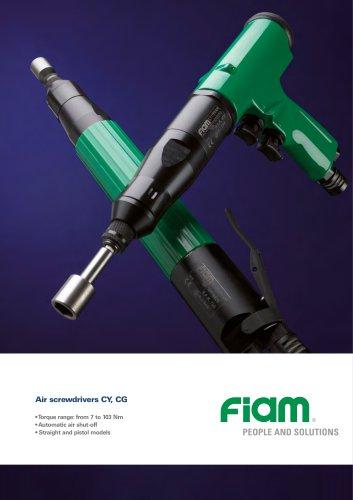 Air screwdrivers CY, CG