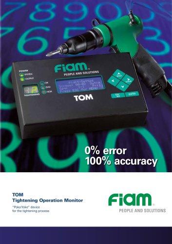 "TOM ""Poka Yoke"" device for the tightening process"