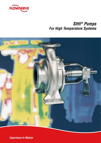 Pumps for high-temperature systems