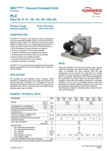 SIHIcompact - Vacuum Compact Units