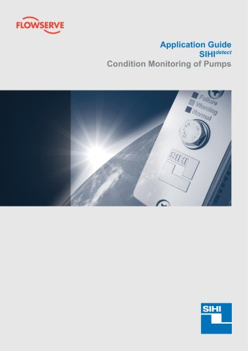 SIHIdetect Sensor for Condition Monioring of Pumps