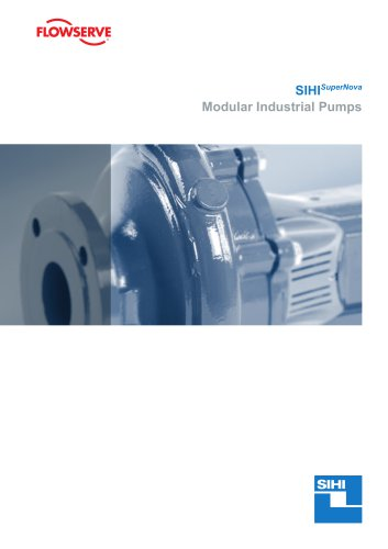 SIHISuperNova industrial standard pumps