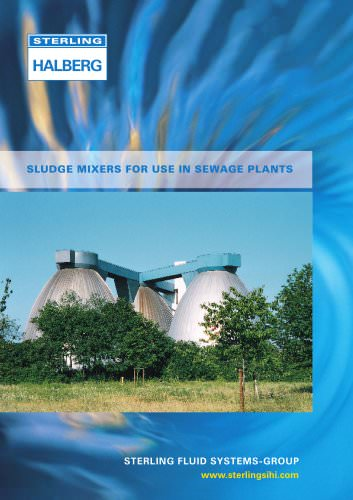 SLUDGE MIXERS FOR USE IN SEWAGE PLANTS